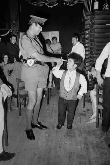 "Аниматоры, клуб ""Шпоры"", декабрь, 1967 год"