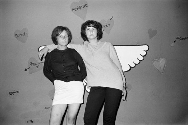 """""""Однокрылый ангел"""", Серия фотографий  """"Катакомбы"""", сент. 1967 год"""