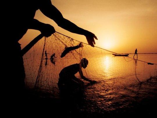 Рыбаки, река Чад (фото: Gordon Gahan)