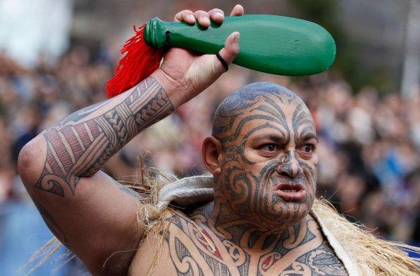 Воин племени Майори, Новая Зеландия,фото: Stefan Wermuth
