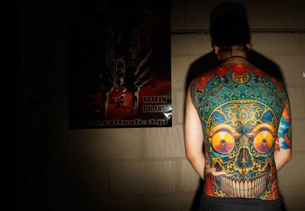 Дэвид Мэнг - один из лучших китайских тату-мастеров, фото: Luke MacGregor