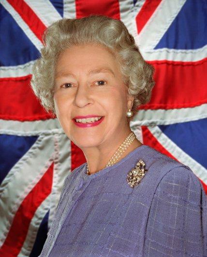 Королева Англии, Её Величество Елизавета II, фотограф: Джон Ранкин