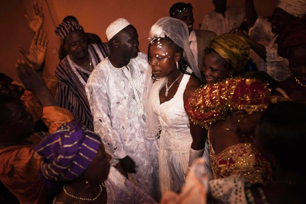 Свадьба в Сьерра-Леоне, фото: Finbarr O'Reilly