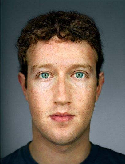 """Марк Цукерберг, фотокнига """"Портреты: 1998-2005"""", фотограф: Мартин Шоллер"""