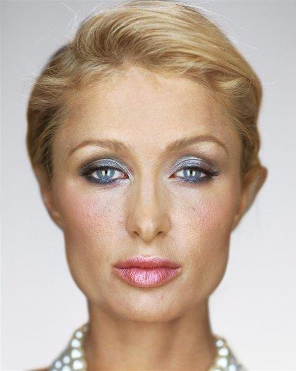 "Пэрис Хилтон, фотокнига ""Портреты: 1998-2005"", фотограф: Мартин Шоллер"