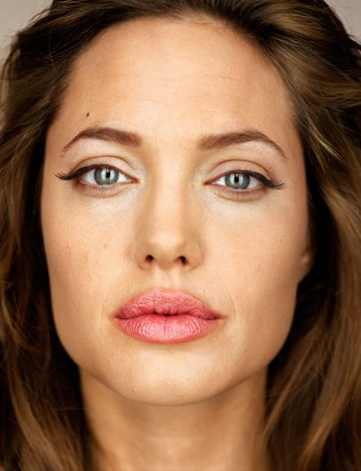 """Анджелина Джоли, фотокнига """"Портреты: 1998-2005"""", фотограф: Мартин Шоллер"""