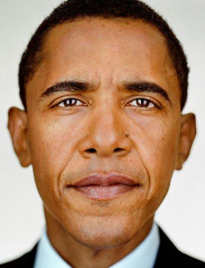 "Барак Обама, фотокнига ""Портреты: 1998-2005"", фотограф: Мартин Шоллер"