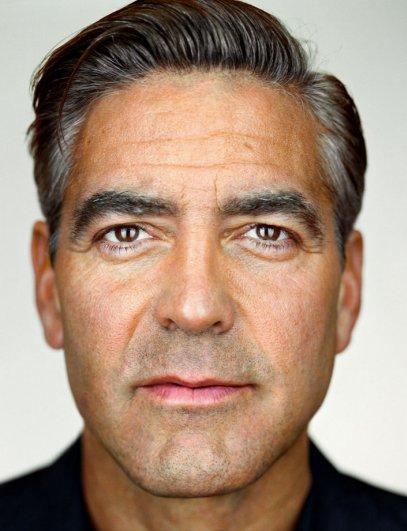 """Джордж Клуни, фотокнига """"Портреты: 1998-2005"""", фотограф: Мартин Шоллер"""