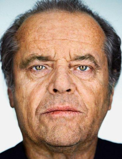 "Джек Николсон, фотокнига ""Портреты: 1998-2005"", фотограф: Мартин Шоллер"