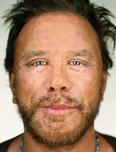 "Микки Рурк, фотокнига ""Портреты: 1998-2005"", фотограф: Мартин Шоллер"