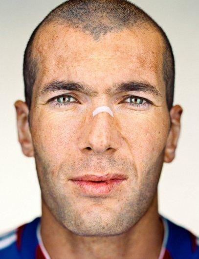 """Зинедин Зидан, фотокнига """"Портреты: 1998-2005"""", фотограф: Мартин Шоллер"""