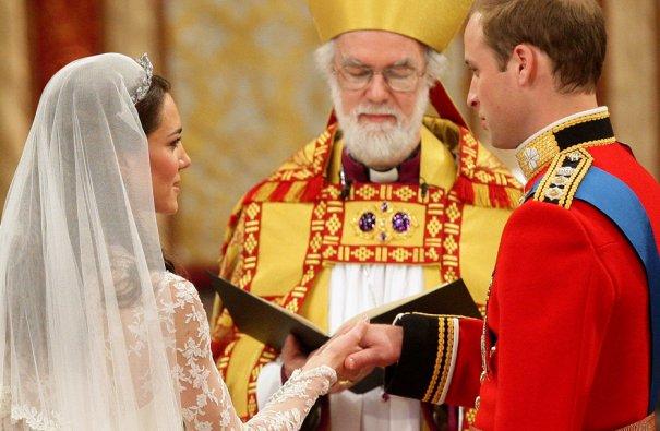 Принцесса Кэтрин дает клятву верности и любви, фото: Dave Thompson