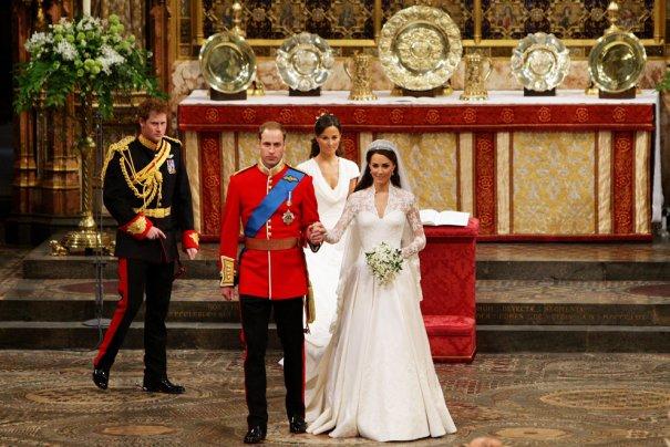 Принц Уильям со своей супругой принцессой Кэтрин, фото: Dave Thompson