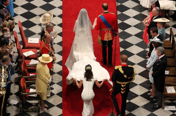 Принц Уильям со своей супругой принцессой Кэтрин, фото: Andrew Milligan