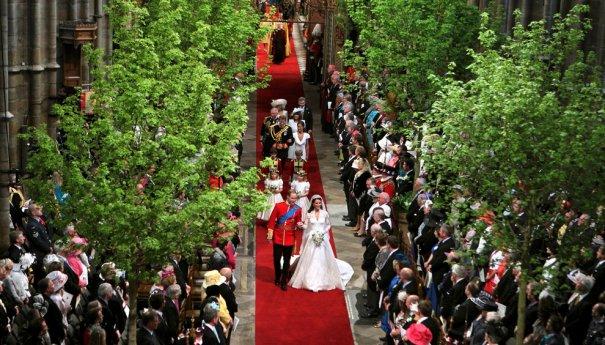 Принц Уильям со своей супругой принцессой Кэтрин, фото: David Jones