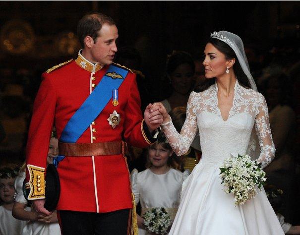 Принц Уильям со своей супругой принцессой Кэтрин, фото: Carl de Souza