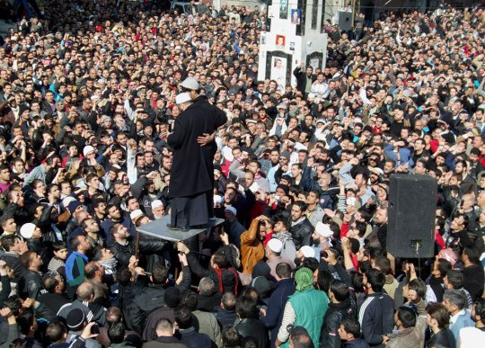 Кровавое подавление антиправительственного восстания в Сирии.... - №1