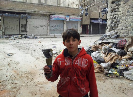 Карм-аль-Зайтун, пригород Хомса, Сирия
