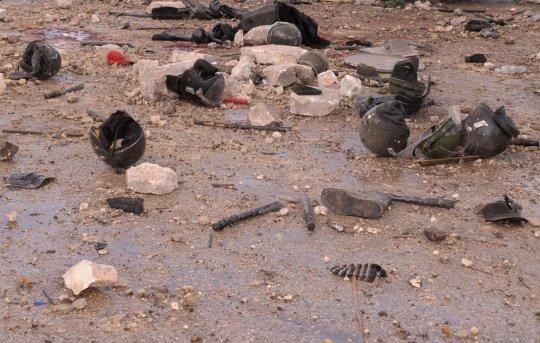 Северная часть Сирии  - Алепо