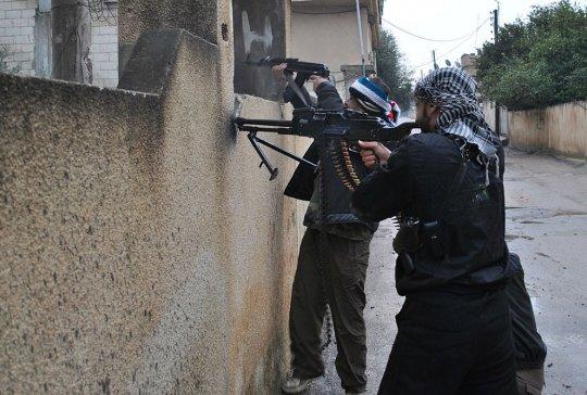 район Растан, Сирия (февраль 2012 год)