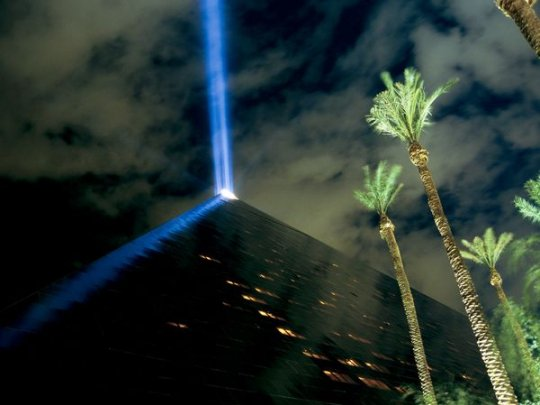 Отель Luxor, Лас-Вегас (фото:Maria Stenzel)