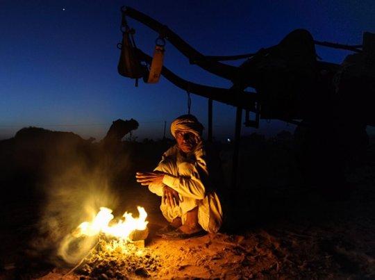 Бедуин. Пустыня Тар. Индия