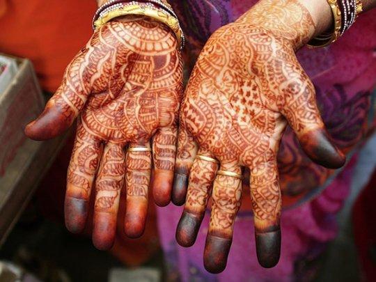 Свадебное мехенди