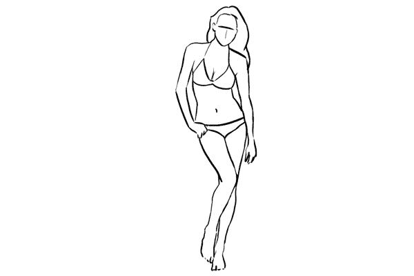 Работа над позами моделей: 21 пример поз для женских фотографий - №19