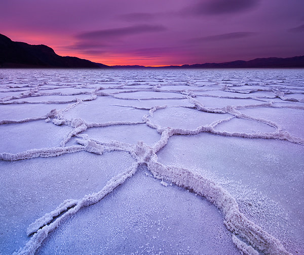 Badwater In Death Valley National Park