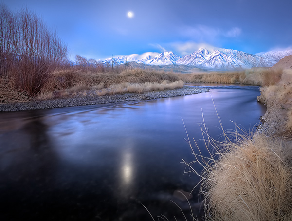 Owens Valley Before Sunrise With Mount Tom