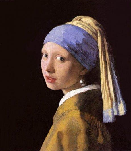 3 Ян Вермеер. Девушка с жемчужной сережкой
