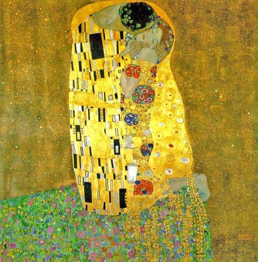 9 Густав Климт. Поцелуй