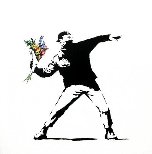 13 граффити Бэнкси
