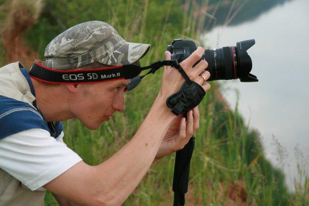 Видеосъёмка с Сокольей горы на Вятке