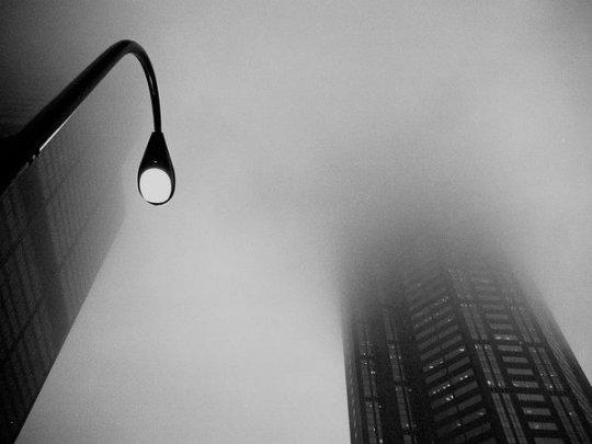 Туман, Чикаго (фото:Steve Damascus)
