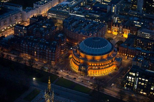 Albert Hall, Южный Кенсингтон, Лондон.
