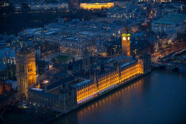 Здания парламента, Вестминстер, Лондон.