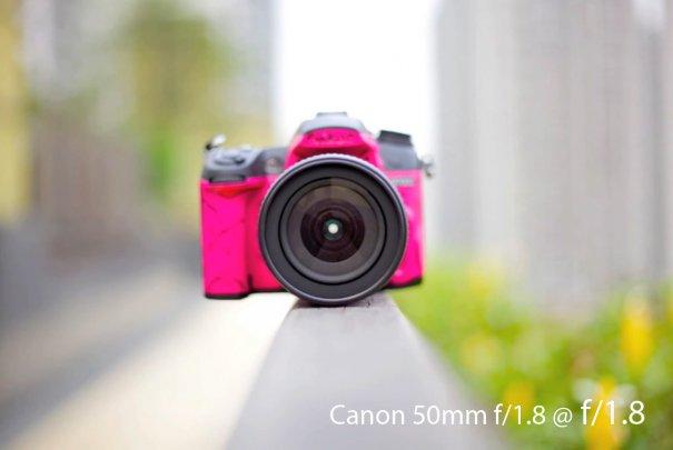 Сравнение 50mm объективов Canon - №14