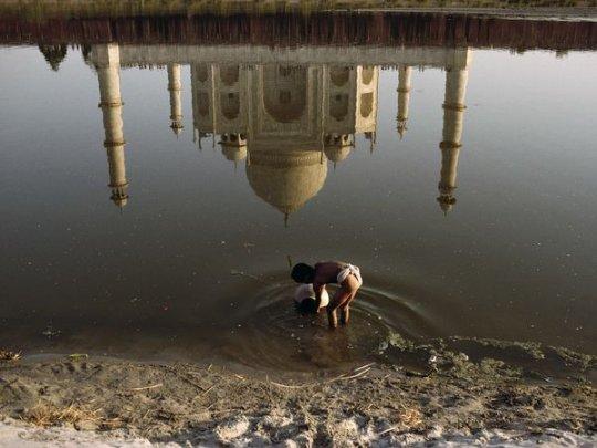Тадж Махал, Агра(фото:Steve McCurry)