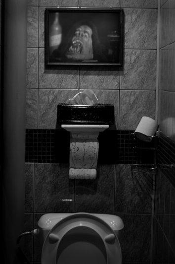 туалет в крематории