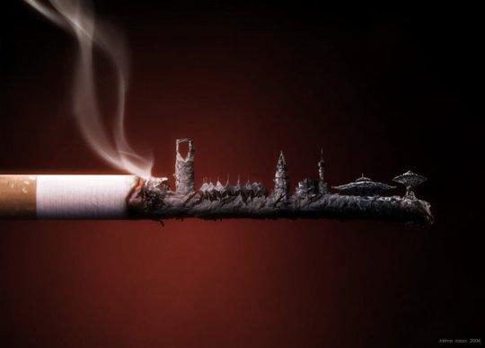 Курят города..