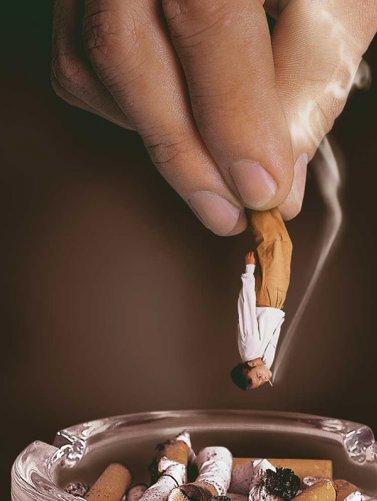 Пропаганда против курения