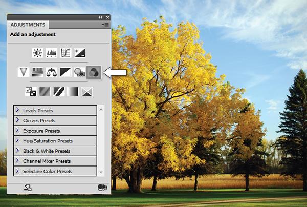 Эффект инфракрасной фотографии c Photoshop CS5 - №4