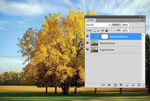 Эффект инфракрасной фотографии c Photoshop CS5 - №5