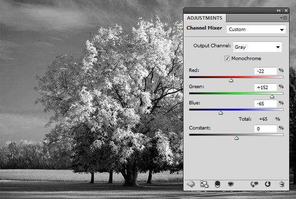 Эффект инфракрасной фотографии c Photoshop CS5 - №6