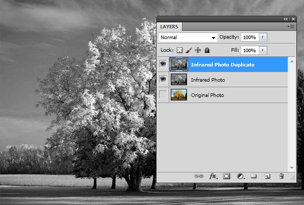 Эффект инфракрасной фотографии c Photoshop CS5 - №7