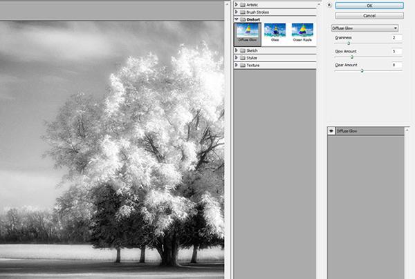 Эффект инфракрасной фотографии c Photoshop CS5 - №9