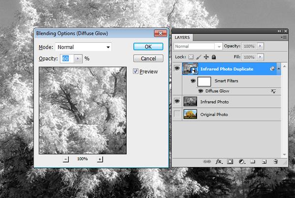 Эффект инфракрасной фотографии c Photoshop CS5 - №10