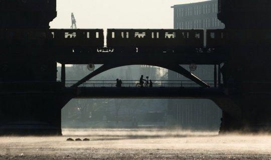 Берлин, мост через р.Шпрее(фото:Markus Schreiber)
