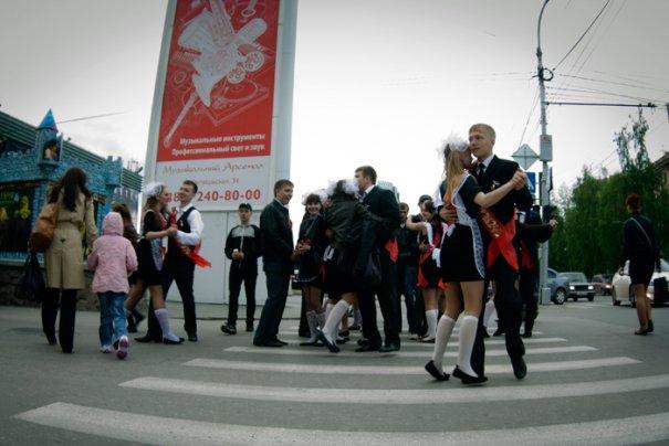 Последний звонок в Новосибирске - №9